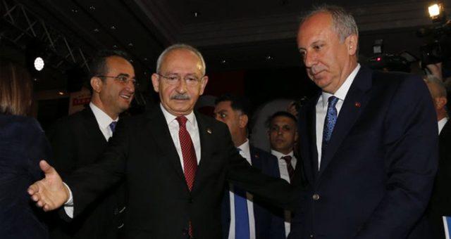 Muharrem İnce'den CHP lideri Kılıçdaroğlu'na sitem: İftiraya uğrayana değil kaynaklık edene haber gönderiyor