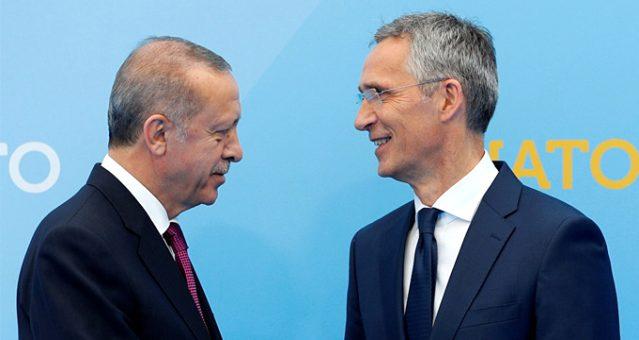 NATO Genel Sekreteri Stoltenberg, Türkiye'ye geldi