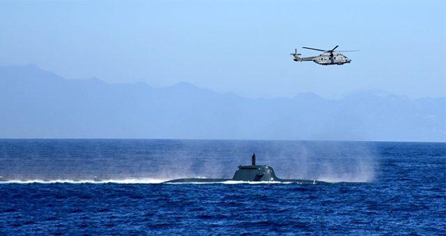 NATO'nun savaş tatbikatı Dynamic Manta-2020, Türkiye'nin de güçlü katılımıyla başladı
