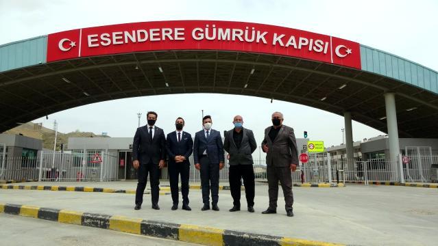 Oda başkanlarından Esendere Sınır Kapısı'na ziyaret