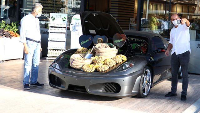 Piyasa değeri 1,5 milyon TL olan lüks otomobilde ceviz sattılar