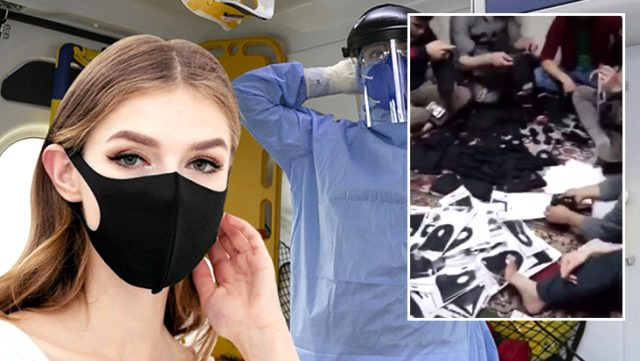 """Piyasada """"Nano teknoloji"""" diye satılan maskeler sağlıksız ortamlarda hazırlanıyor"""