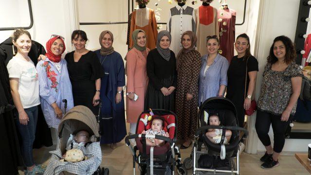 Qras, İrlandalı Anne ile Workshop yaptı