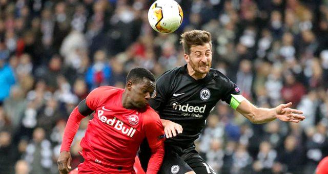 RB Salzburg-Eintracht Frankfurt maçına fırtına engeli