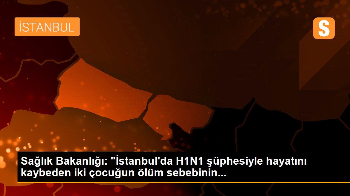 """Sağlık Bakanlığı: """"İstanbul'da H1N1 şüphesiyle hayatını kaybeden iki çocuğun ölüm sebebinin..."""