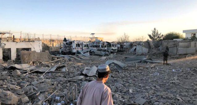 Son Dakika: Afganistan'da hastaneye bombalı araçla saldırı: 15 ölü, 66 yaralı
