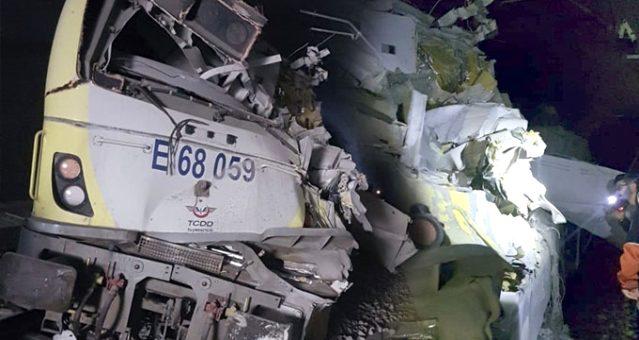 Son Dakika: Bilecik'te raydan çıkan kılavuz tren paramparça oldu: İki makinist öldü