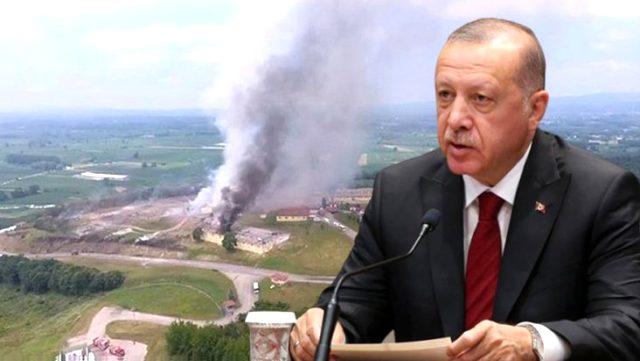 Son dakika: Cumhurbaşkanı Erdoğan'dan Sakarya'daki patlamaya ilişkin ilk açıklama