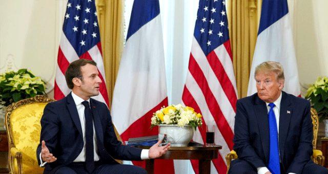 Son dakika: Fransa Cumhurbaşkanı Macron'dan NATO açıklaması: Açıklamalarımın arkasındayım
