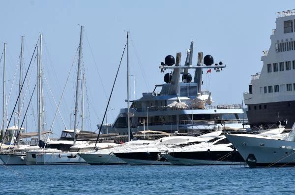 Son dakika güncel: Rus milyarderin lüks yatı, Marmaris'e 1,5 milyon lira kazandırdı