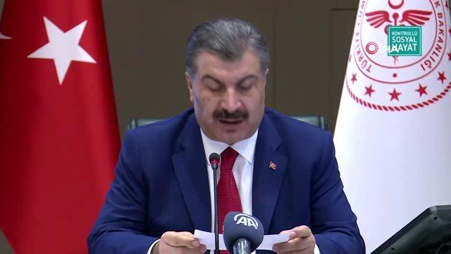 """Son dakika haber: Sağlık Bakanı Fahrettin Koca: """"6 ayı geride kalan salgın insanlığın gündemindeki ciddiyetini..."""