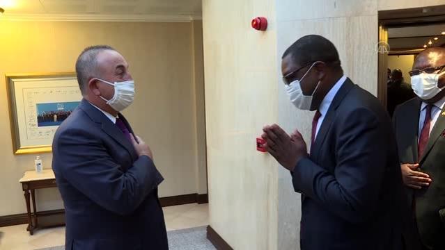 Son dakika haberi | Çavuşoğlu, Zambiya Dışişleri Bakanı Malanji ile bir araya geldi