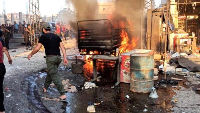 Son Dakika: Terör örgütü PKK, Afrin'de sivilleri hedef aldı: 11 ölü, 40 yaralı