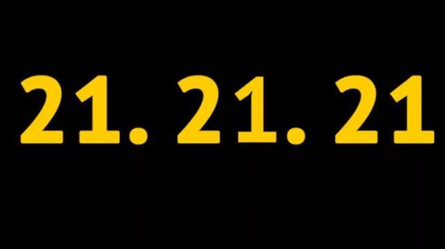 Sosyal medyada 21.21.21 paylaşımı gündem oldu