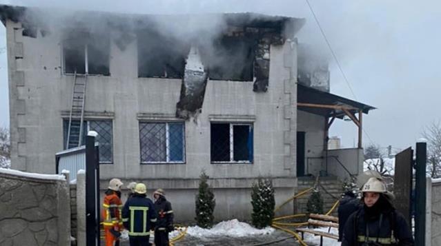 SoUkrayna'da huzur evinde yangın: 15 ölü, 9 yaralı