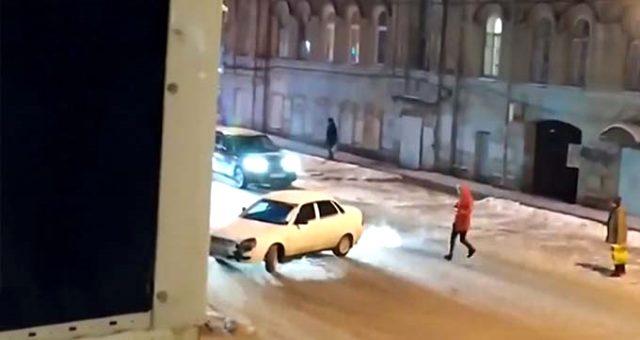 Sürücüsüz araç trafiği birbirine kattı