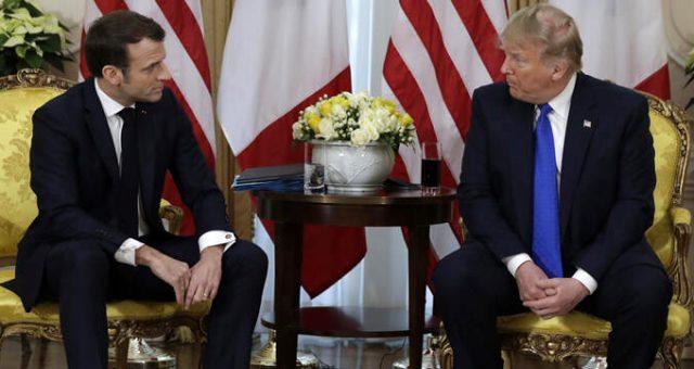 Trump-Macron görüşmesine damga vuran soru: Siz teröristleri geri istiyor musunuz?