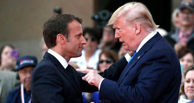 Trump'tan NATO'nun beyin ölümünün gerçekleştiğini söyleyen Macron'a yanıt: Çok aşağılayıcı