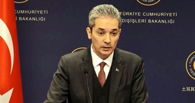 """Türkiye'den Yunanistan Başbakanı'nın küstah sözlerine """"hayalperest ideolojiler"""" tepkisi"""
