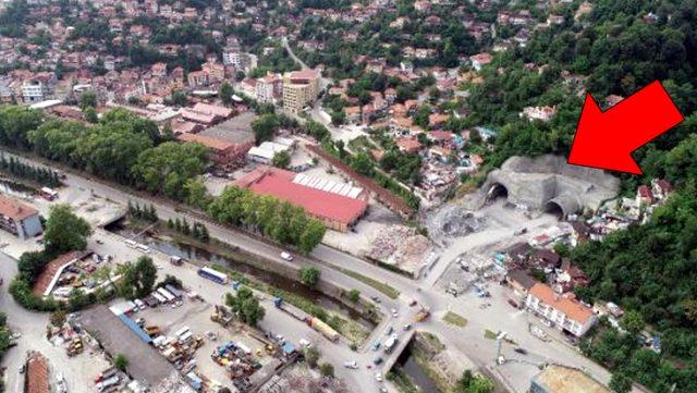 Yapımında sona gelinen Mithatpaşa Tünelleri ile Zonguldak'ın 45 yıllık hayali gerçek oluyor