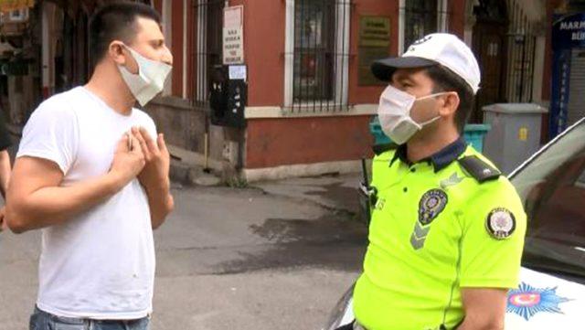 """Yasağa rağmen müşteri alan taksiciyi """"İnisiyatif aldım"""" savunması ceza yemekten kurtaramadı"""