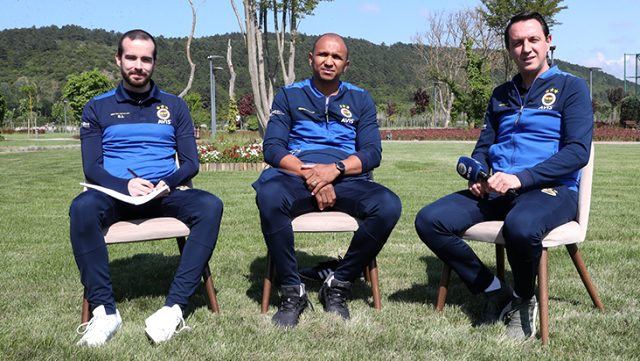 Yıllar sonra Fenerbahçe'ye dönen Aurelio hedefi belirledi: İnşallah Türkiye Kupası'nı kazanacağız
